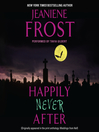 Happily Never After (MP3): Night Huntress World Series, Book 1