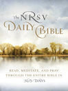 The NRSV Daily Bible (eBook): Read, Meditate, and Pray Through the Entire Bible in 365 Days