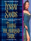Taming the Highland Bride (MP3): Devil of the Highlands Series, Book 2