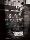 The Boy Detective (MP3): A New York Childhood