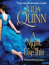 A Night Like This (MP3): Smythe Smith Quartet Series, Book 2
