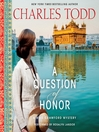 A Question of Honor (MP3): Bess Crawford Mystery Series, Book 5