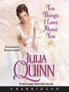 Ten Things I Love About You (MP3)