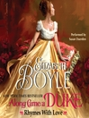 Along Came a Duke (MP3): Rhymes With Love Series, Book 1