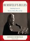 Rumsfeld's Rules (MP3)