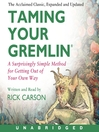 Taming Your Gremlin (MP3)