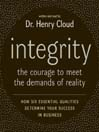 Integrity (MP3): The Courage to Meet the Demands of Reality