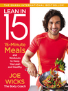Lean in 15 [electronic book] : 15-minute meals and workouts to keep you lean and healthy