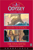 Return to Ithaca & The Final Battle (MP3): Tales from the Odyssey Series, Book 3