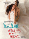 A Week to Be Wicked (MP3): Spindle Cove Series, Book 2