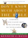 Don't Know Much About the Bible (eBook)