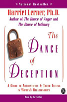 The Dance of Deception (MP3): A Guide to Authenticity & Truth Telling In Women's Relationships