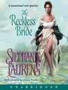 The Reckless Bride (MP3): Black Cobra Quartet, Book 4