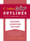 Modern European History (eBook)