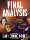 Final Analysis (MP3): The Untold Story of the Susan Polk Murder Case