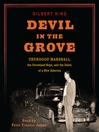 Devil in the Grove (MP3): Thurgood Marshall, the Groveland Boys, and the Dawn of a New America
