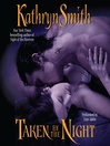 Taken By the Night (MP3): Brotherhood of Blood Series, Book 3