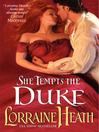 She Tempts the Duke (eBook)