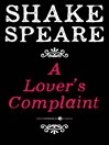 A Lover's Complaint (eBook): A Poem