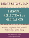 Personal Reflections & Meditations (MP3)