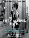 Fifth Avenue, 5 A.M. (MP3)