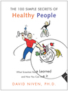 100 Simple Secrets of Healthy People (eBook)