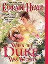 When the Duke Was Wicked (eBook)