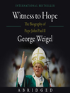 Witness to Hope (MP3): The Biography of Pope John Paul II