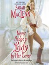 Never Judge a Lady by Her Cover (MP3): Rules of Scoundrels Series, Book 4