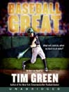 Baseball Great (MP3): Baseball Great Series, Book 1