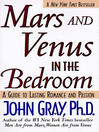 Mars and Venus in the Bedroom (eBook): A Guide to Lasting Romance and Passion
