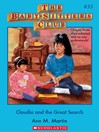 Claudia and the Great Search (eBook): Baby-Sitters Club Series, Book 33