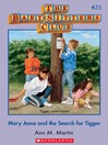 Mary Anne and the Search for Tigger (eBook): Baby-Sitters Club Series, Book 25