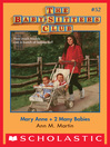 Mary Anne + 2 Many Babies (eBook): Baby-Sitters Club Series, Book 52