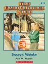 Stacey's Mistake (eBook): Baby-Sitters Club Series, Book 18