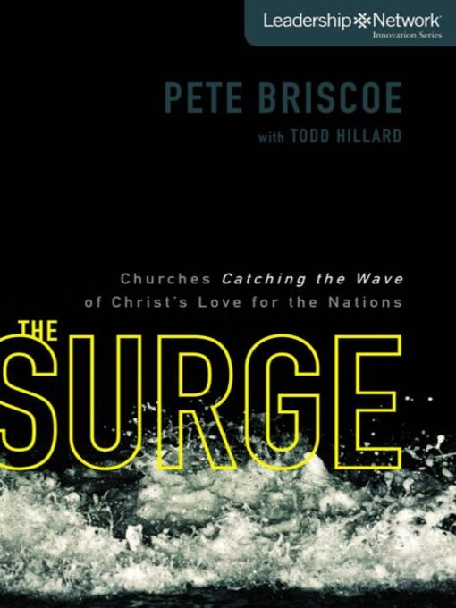 The Surge (MP3): Churches Catching the Wave of Christ's Love for the Nations