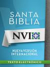 NVI Santa Biblia con letra negra (eBook)