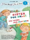 Sister For Sale! /  Hermana a la venta (eBook): Biblical Values