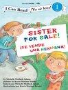 Sister For Sale! /  Hermana a la venta (eBook): Biblical Values