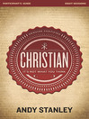 Christian Participant's Guide (eBook): It's Not What You Think