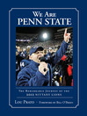 We Are Penn State (eBook): The Remarkable Journey of the 2012 Nittany Lions