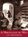 A Miscellany of Men (eBook)