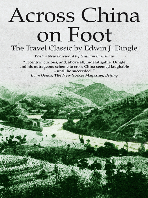 Across China on Foot (eBook)