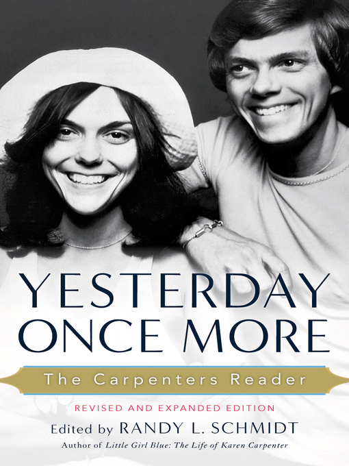 Yesterday Once More (eBook): The Carpenters Reader