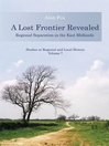 A Lost Frontier Revealed (eBook): Regional Separation in the East Midlands