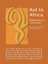 Aid to Africa (eBook): Redeemer or Coloniser?