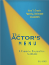 The Actor's Menu (eBook): A Character Preparation Handbook