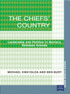 The Chiefs' Country (eBook): Leadership and Politics in Honiara, Soloman Islands