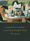 Interpreting Music (eBook)