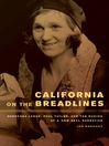 California on the Breadlines (eBook): Dorothea Lange, Paul Taylor, and the Making of a New Deal Narrative